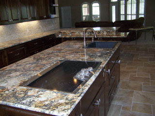 Natural Granite Countertops Are The Top Choice Today For High End Homes.  Granite Is A Very Durable Stone, Resistant To Scratches And Nearly Immune  To Heat.